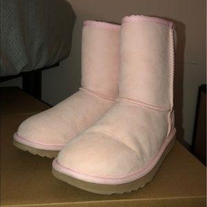 Baby Pink Ugg Boot 4 Kids / 6.5-7 Womens